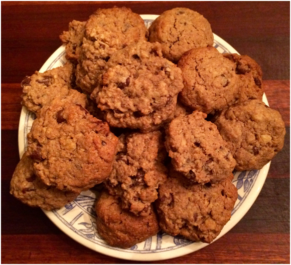 Megan and Riley's Oatmeal Cookies