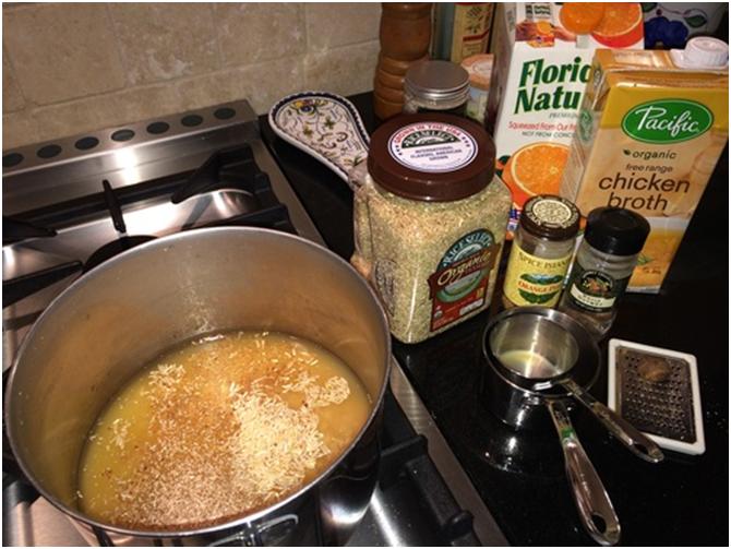 Orange Scented Rice