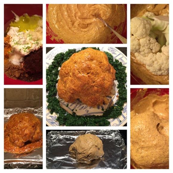 Roasted Whole Cauliflower