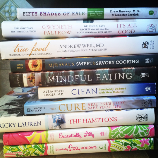 My Favorite Cookbooks of the Day