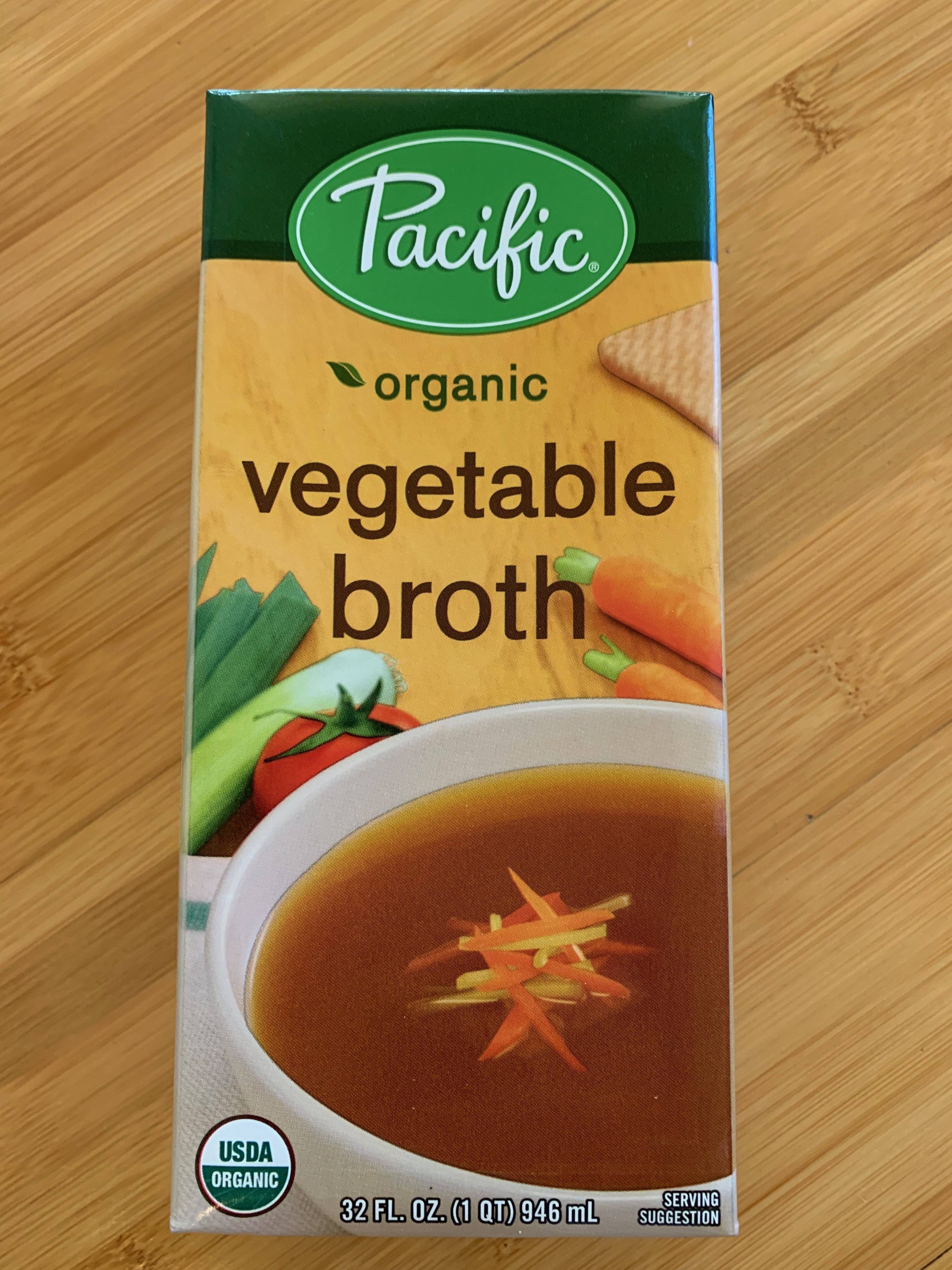 Pacific Organic Vegetable Broth